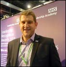 Tom Lindley Commercial and International Innovation Manager with NHS England